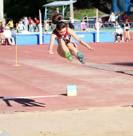 high jump: Long jump Editorial