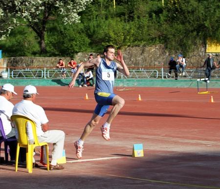 deportes olimpicos: Competencia de salto triple