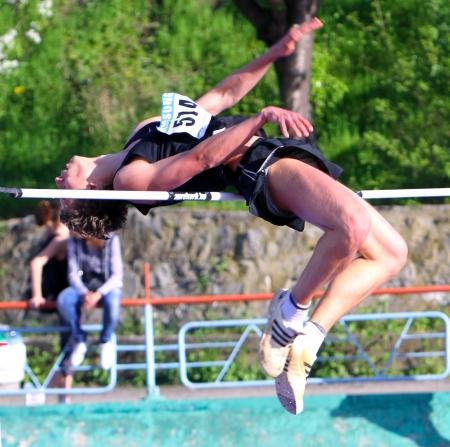 deportes olimpicos: La competencia de salto de altura