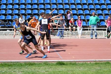 relay: Carrera de relevos