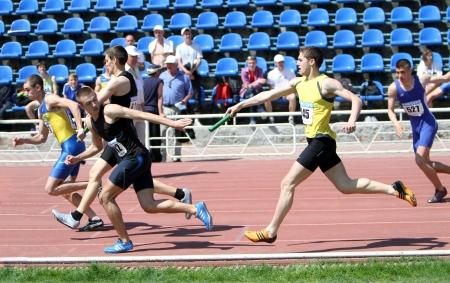 deportes olimpicos: Carrera de relevos