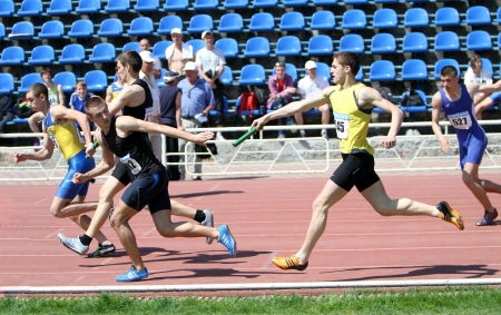 relay race: Relay race