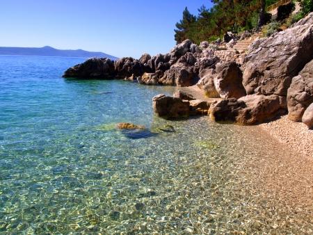 adriatic sea: Seascape in Croatia, near by city of Rijeka Stock Photo