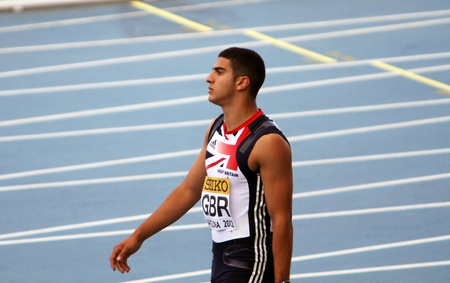 BARCELONA, SPAIN - JULY 13  Adam Gemili of Great Britain wins his Men