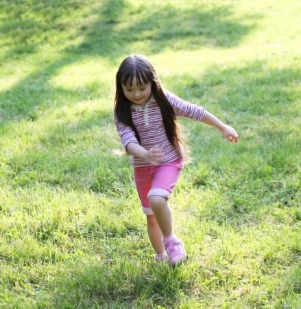 Happy little girl Stock Photo - 15209332