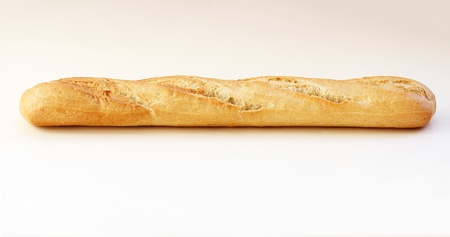 French baguette on the table photo