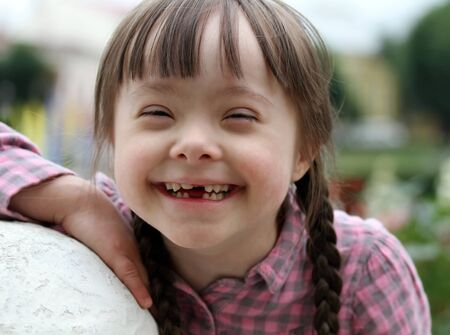 Portrait of young happy girl Stock Photo - 17499487