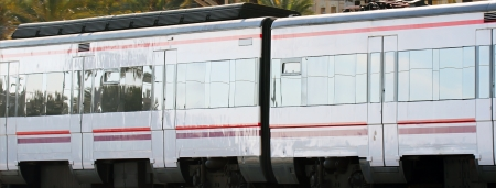 Contemporary new train from Spain. photo