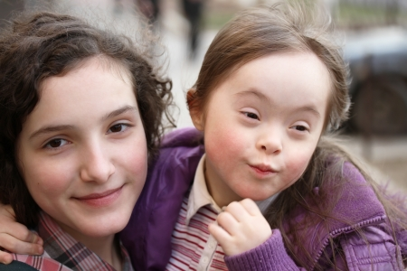 Down Syndrome: Happy family moments