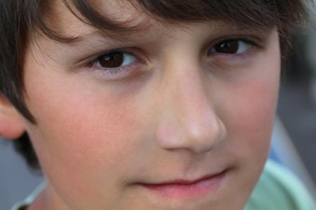 Portret van de jongen Stockfoto - 22284539