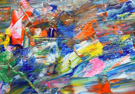 Background of artist palette