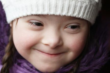 Portrait of beautiful happy girl  photo