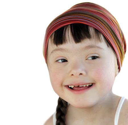 Portrait of beautiful girl