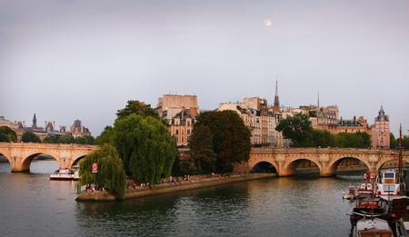 cite: Cite island in Paris, France. Editorial