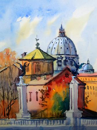 pietro: Basilica Sant Pietro, Vatican, Rome, Italy.