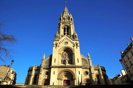 Eglise Notre Dame de la Croix in Paris, France