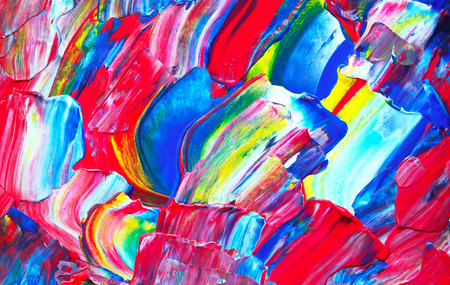 picture: Art abstract paint with acrylic colors