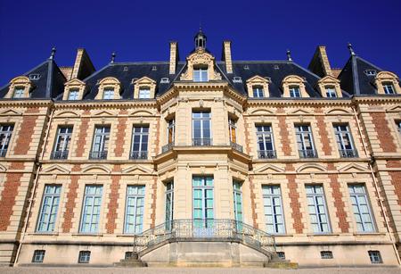 architectural heritage: Chateau de Sceaux, grand country house in park of Sceaux, Hauts-de-Seine, not far from Paris, France. Editorial