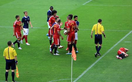 belgique: FranceBelgium football match At the Stade de France June 7 2015