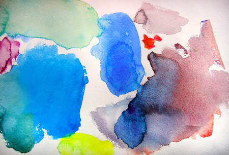 abloom: Abstract watercolor painting