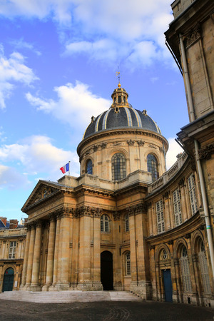 academie: Institut de France French Institute, in Paris, France