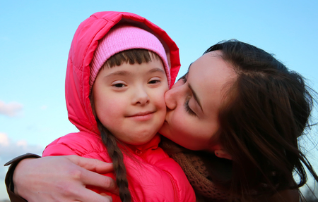 discapacitados: Momentos felices de la familia