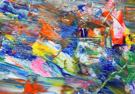 artist palette: Background of artist palette. Stock Photo