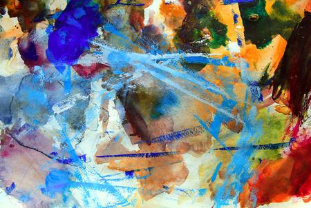 arte abstracto: Arte abstracto de fondo paleta