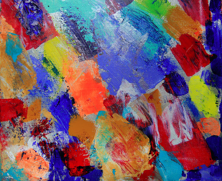 creativeness: Art abstract paint with acrylic colors