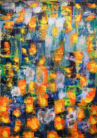 abstract art: Abstract art painting