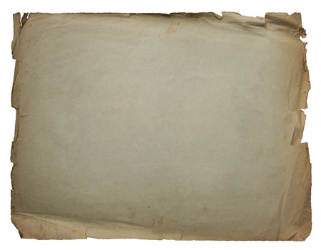 white textured paper: Vintage texture old paper background isolated on white