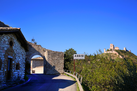 Entrance to the Assisi city of Saint Francis