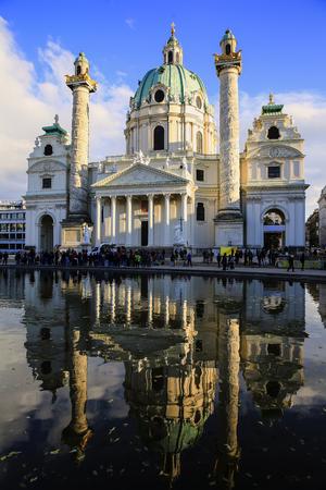 St. Charless Church in Vienna, Austria