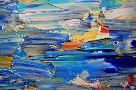 Kunst abstrakte Farbe mit Acrylfarben