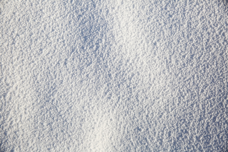 Natural white snow background