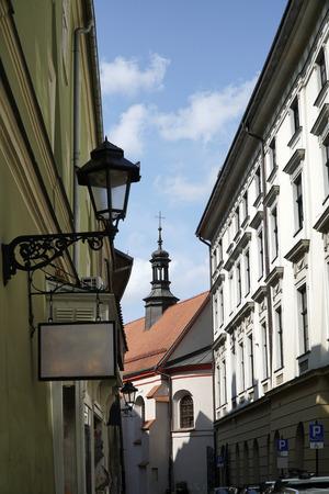 Street of the Krakow, Poland