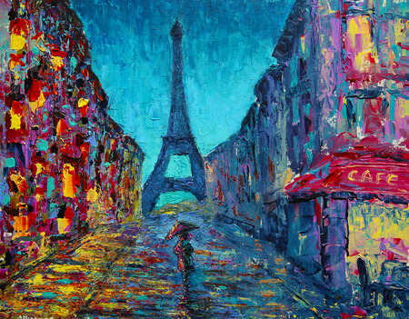 Malarstwo uliczne w Paryżu
