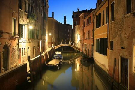 Venice, Italy in the evening 版權商用圖片