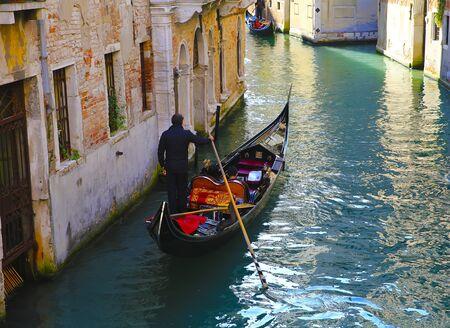 Gondola in the Venice, Italy