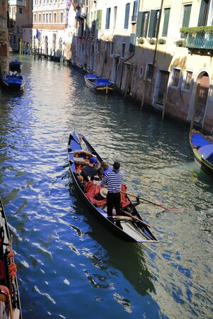 Gondola in the Venice, Italy 스톡 콘텐츠