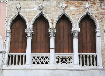 Windows from the Venice, Italy