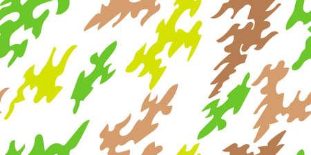 Spots and blots. Camouflage background. Seamless pattern of blots and spots. Vector illustration Illusztráció