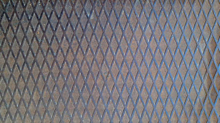 Corrugated rusty metal. Corrugated metal surface, vintage background