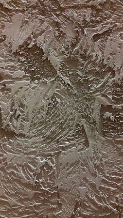 Plaster. Decorative textured plaster. Abstract background Stock fotó