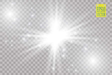 ray of light: Glow light effect.