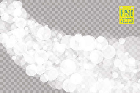 ray of light: Abstract white bokeh effect explosion with sparks modern design. Glow star burst or firework light effect. Sparkles light vector transparent background. Christmas Concept. Flicker magic effect Illustration