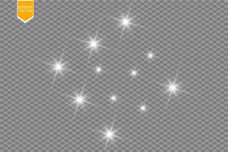 Glow light cadre. illustration vectorielle. concept flash noël Banque d'images - 88482034