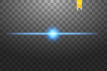 Concept créatif Ensemble vectoriel d'étoiles à effet lumineux éclatant d'étincelles isolées sur fond noir. Pour la conception d'art de modèle d'illustration, bannière pour la célébration de Noël, rayon d'énergie flash magique. Vecteur
