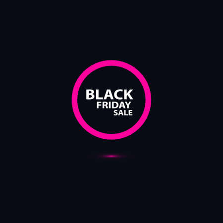 Beautiful black Friday background. advertising sales in stores and on the site. vector illustration. Black Friday Sale abstract background. Vector banners.