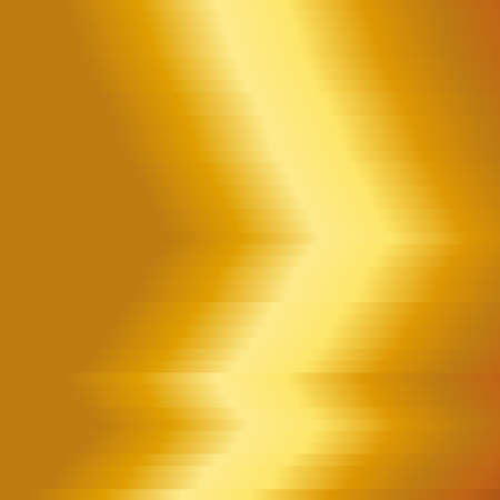 Gold metal plate with yellow texture background. Gold metal background. Vector illustration. 矢量图像